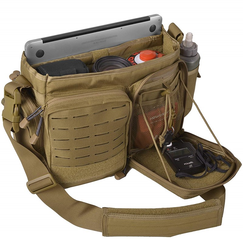 强AD袭行动强袭者 二代t信使包 通勤战术手外便携单肩户提斜跨背
