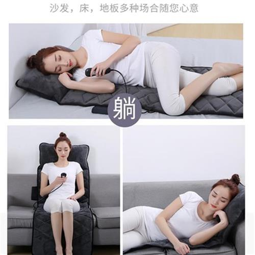 Electric massage mattress neck shoulder waist back whole body multifunctional cushion chair household personal w care and health care device