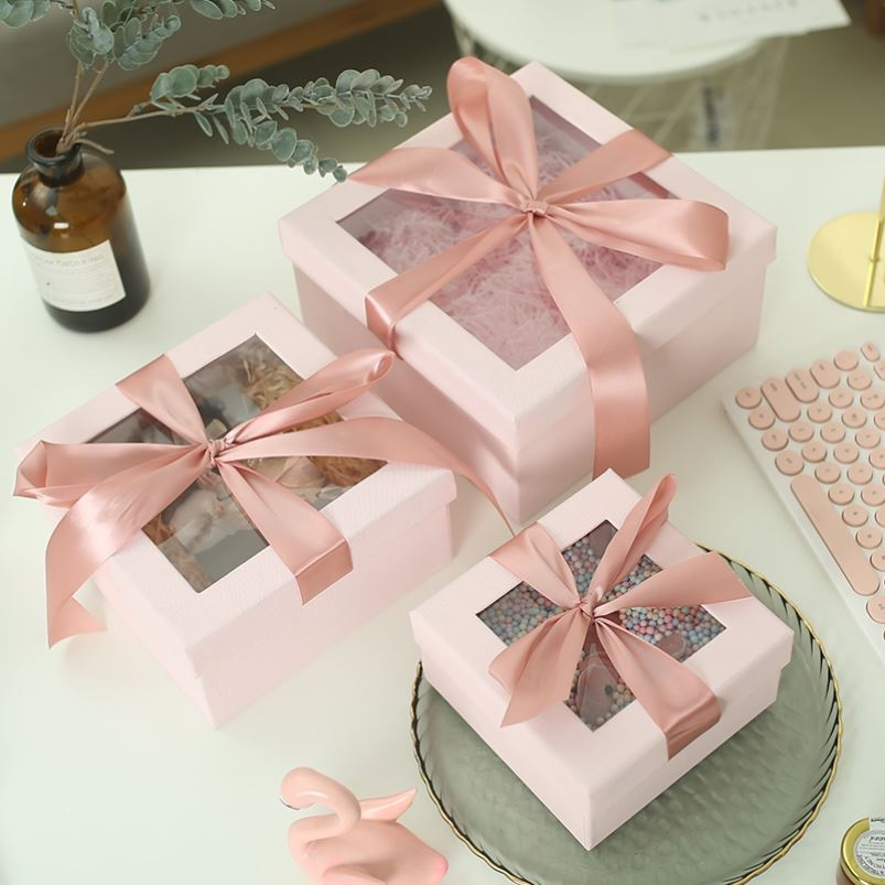 Mothers Day gift box for two anniversaries extra large gift box for clothes empty cosmetic box