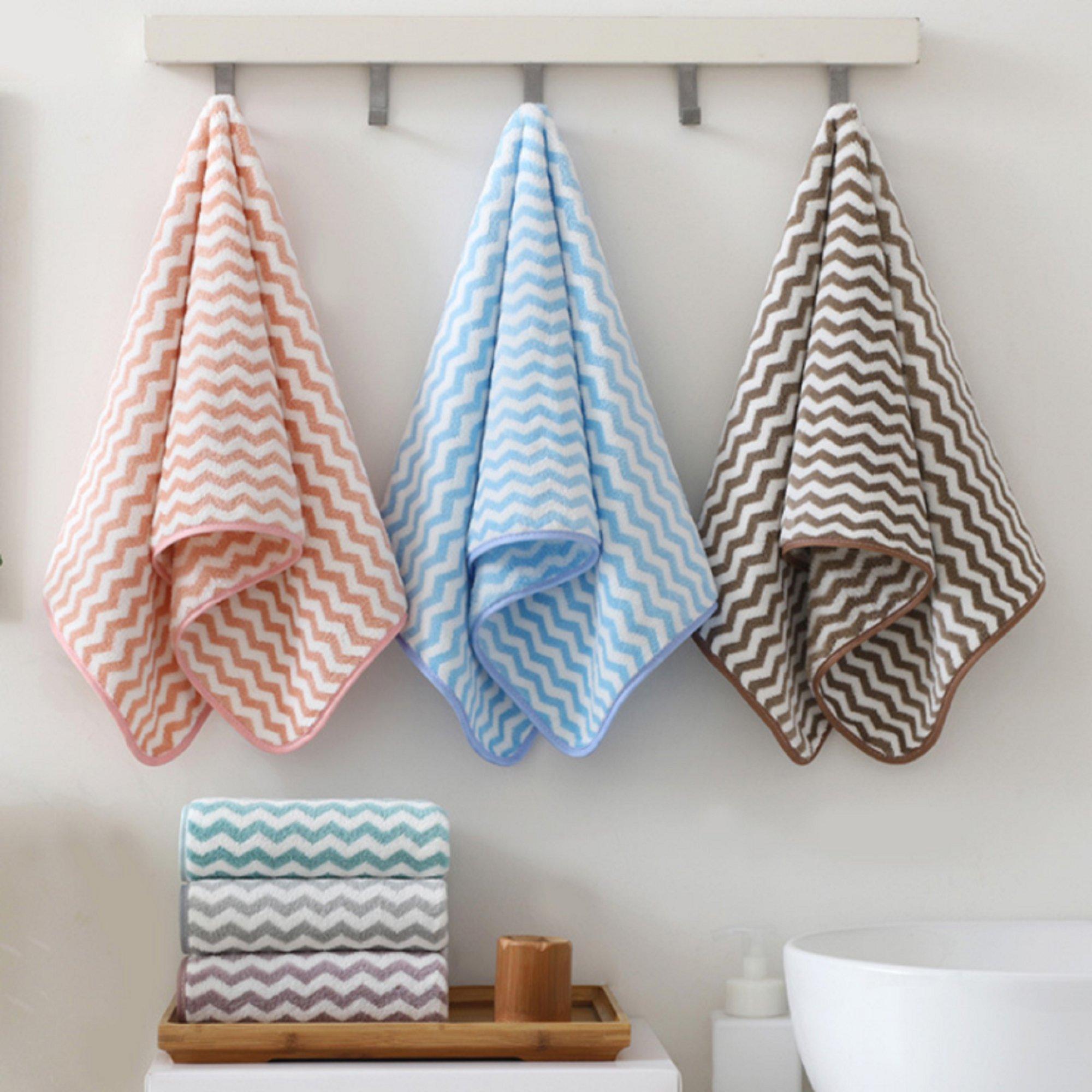 家用洗脸毛巾3条