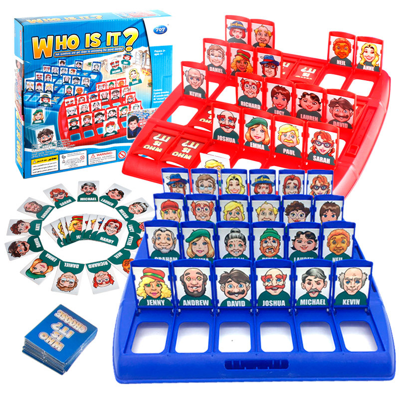 Board game guess who I am what am I guess character chess game strategy reasoning toy