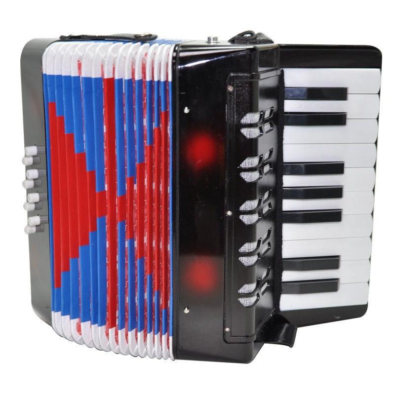 新品出口欧洲专业手风琴大号8贝斯17键成人儿童初学音乐乐器