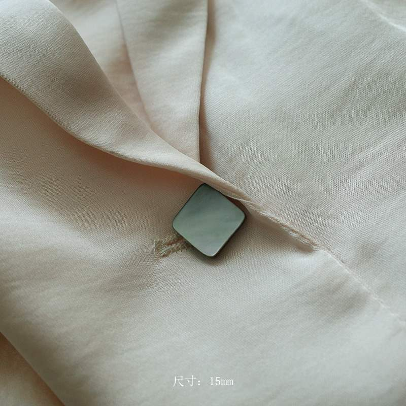 安妮花开  装饰实用防走光贝壳几何圆形小领针珍珠花胸针钉子扣