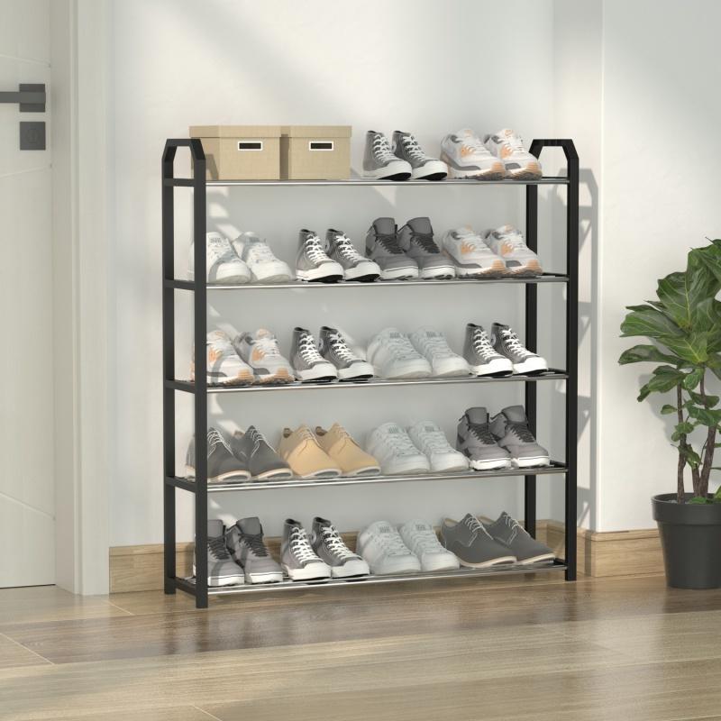 鞋架子简易多层家用门口防尘鞋柜收纳神器多功能进门特价拖鞋架子