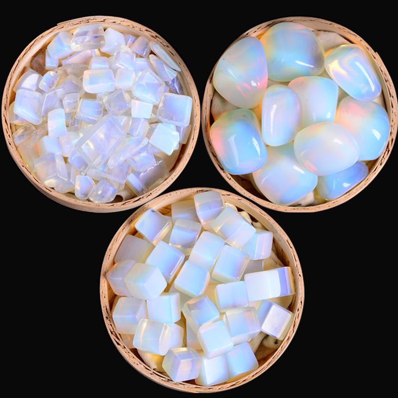 Opal crystal macadam degaussing opal large particle opal macadam aquarium macadam