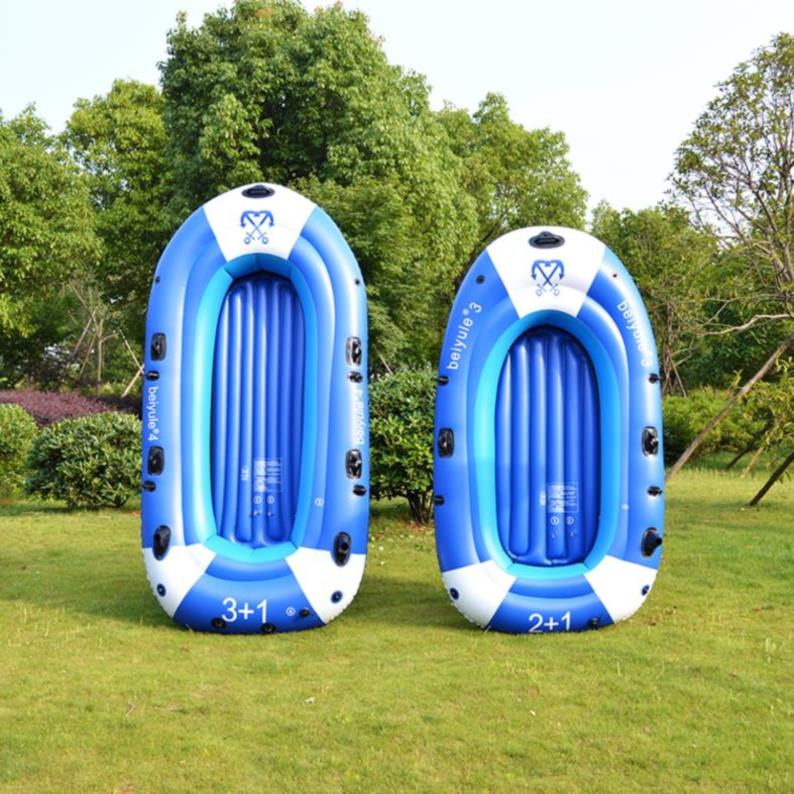 Leather rafting paddle inflatable speedboat multi person water ski large inflatable boat plastic rubber swimming pool hovercraft