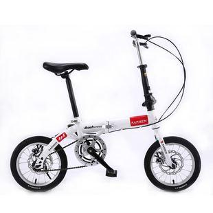 三河马14寸16寸20寸折叠男女超轻便携成人儿童学生变速碟刹自行车