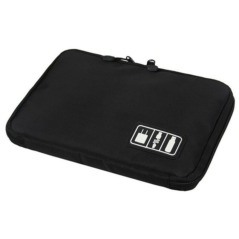 Xinqin travel digital storage bag multifunctional elastic waterproof data cable storage bag portable electronic accessories