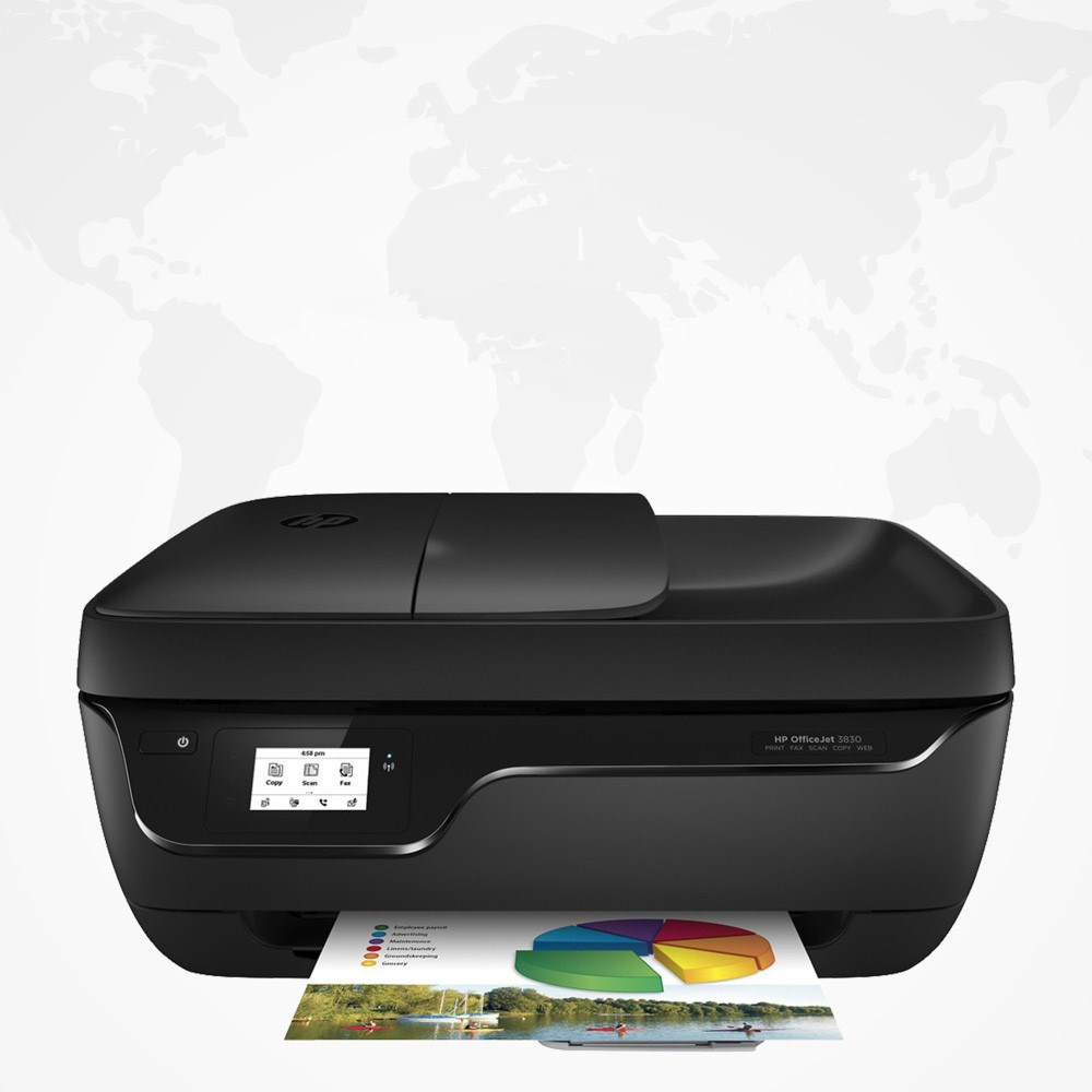 Ink jet color printer multi-function scanning copy fax all-in-one mobile phone WiFi wireless printing photos.