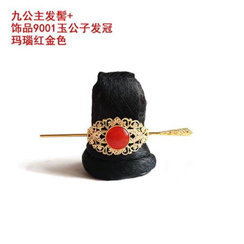 Ancient costume modeling fake bun beautiful Weiyang nine Princess y tuobadi I I women disguised as mens hair accessories Naza chooses the day to remember hair