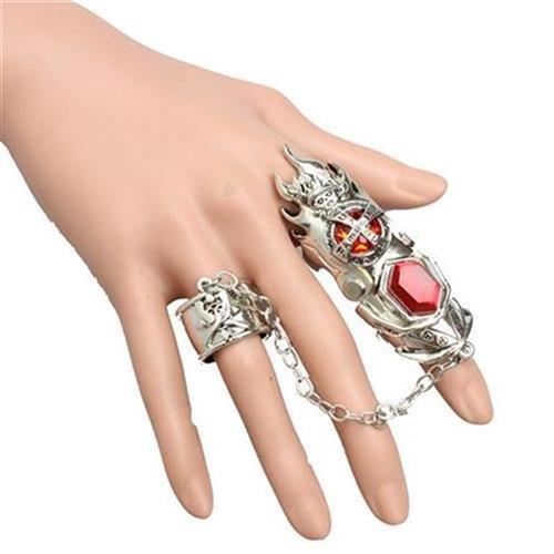 Mens ring ring personality retro fashion rock Korean D tide G ring skeleton non mainstream domineering rock friend