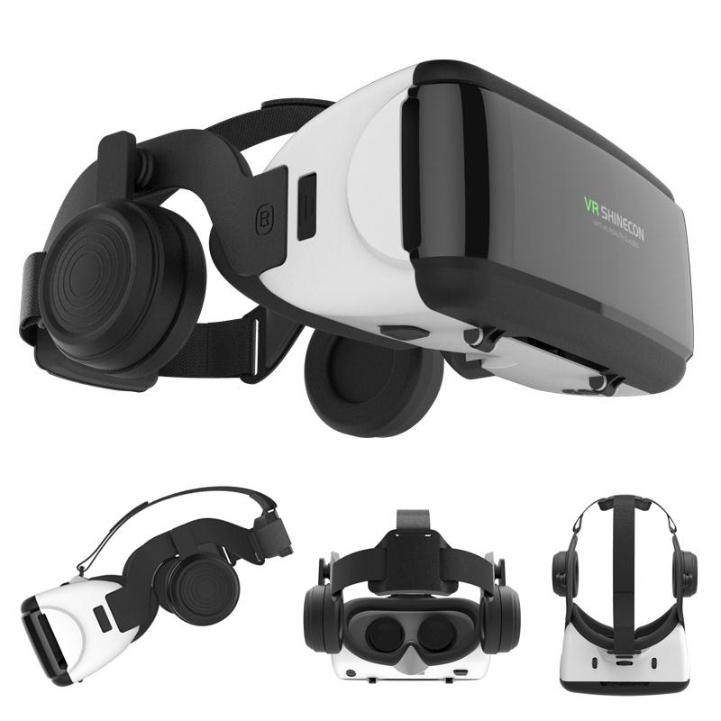 Vrメガネ愛奇3 D携帯映画館イマックスバーチャルリアリティヘルメット全景に浸るiPhone VR