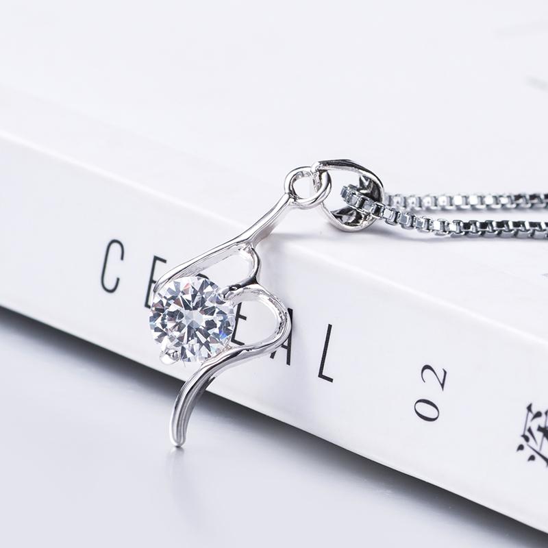 中國代購|中國批發-ibuy99|项链|时尚男女戒指项链 短款锁骨链简约日韩版颈链饰品 送女友闺蜜礼。