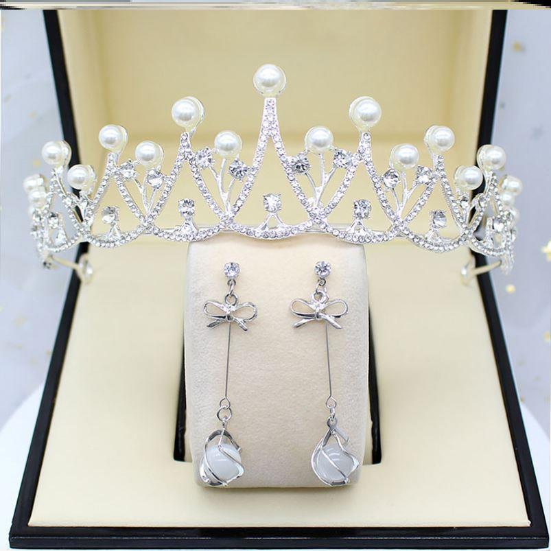 Wedding dress headdress bride super Fairy Princess 18-year-old adult ceremony girls birthday crown female adult super fairy pearl crown