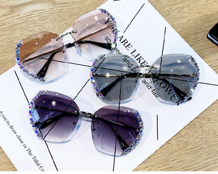 中國代購 中國批發-ibuy99 太阳镜 圆形眼镜盒司机镜女生防晒太阳度假可爱太阳眼镜女小脸简约潮街拍