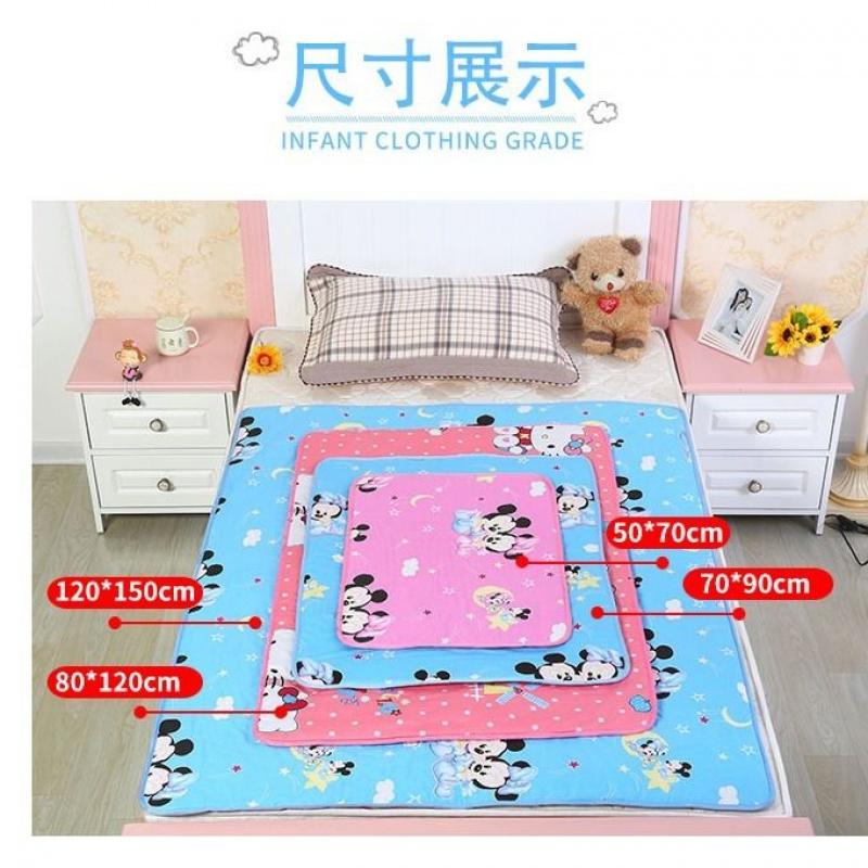 中國代購|中國批發-ibuy99|散步用品|婴儿隔尿垫纯棉防水可洗超大号防漏儿童宝宝姨妈垫护理垫床垫用品