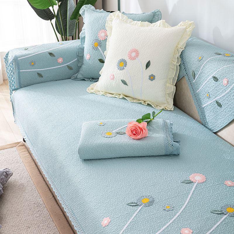 中國代購 中國批發-ibuy99 垫子 沙发垫子单块田园风格小盖布ins风日式美式复古靠背巾欧式套罩