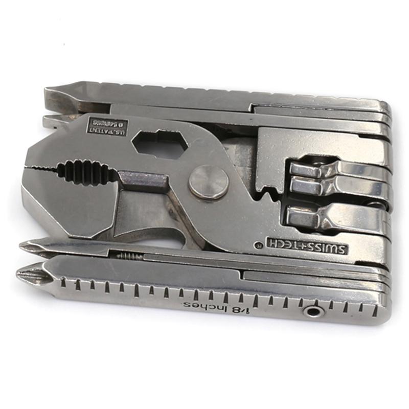 多功能工具钳子瑞士科技折叠钥匙扣随身迷你户外组合便携式螺丝刀