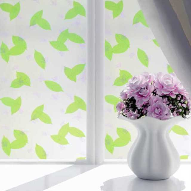 Sticker pasted on the glass white fog sand pasted on the window heat insulation fuzzy sunscreen facade anti peep film balcony