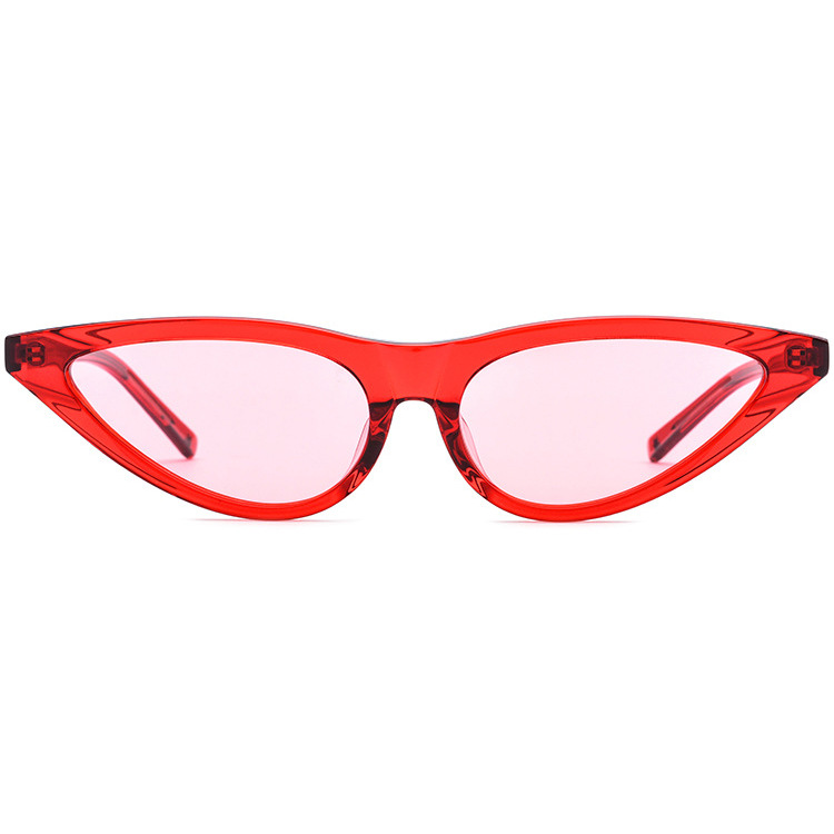 European and American sexy sunglasses Fashion Trend plate triangular cat ear sunglasses for women can be equipped with myopia personalized glasses