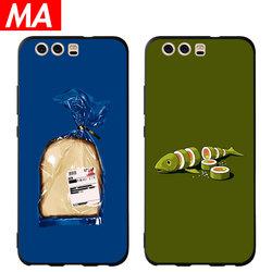MA食物华为p30/p20/pro手机壳创意p10/p9/plus硅胶软壳ins风后壳