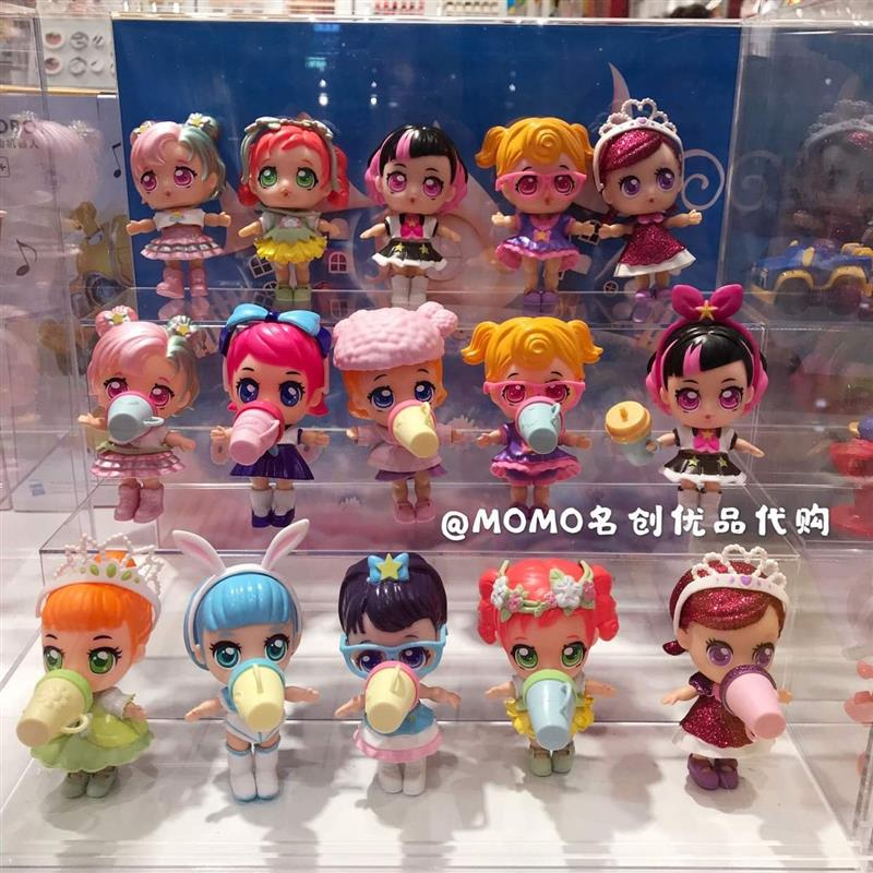 Yiqi surprise doll guess N open legball egg second generation Princess hairdressing blind Box Girl Toy