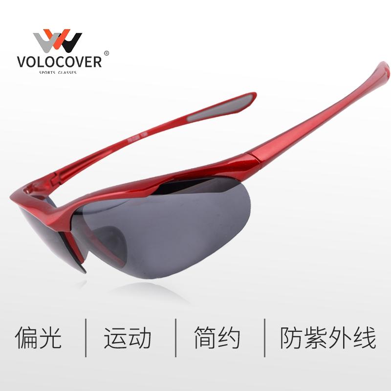 运动型简约偏光太阳镜户外骑行钓鱼驾驶眼镜小号适合小脸型重量轻