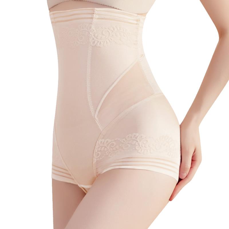 美人诱计高腰收腹裤女产后修复收肚子提臀收大腿塑形美体塑身裤