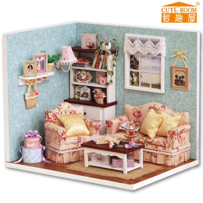 智趣屋diy小屋 拚裝小房子模型玩具小屋 生日 送女朋友