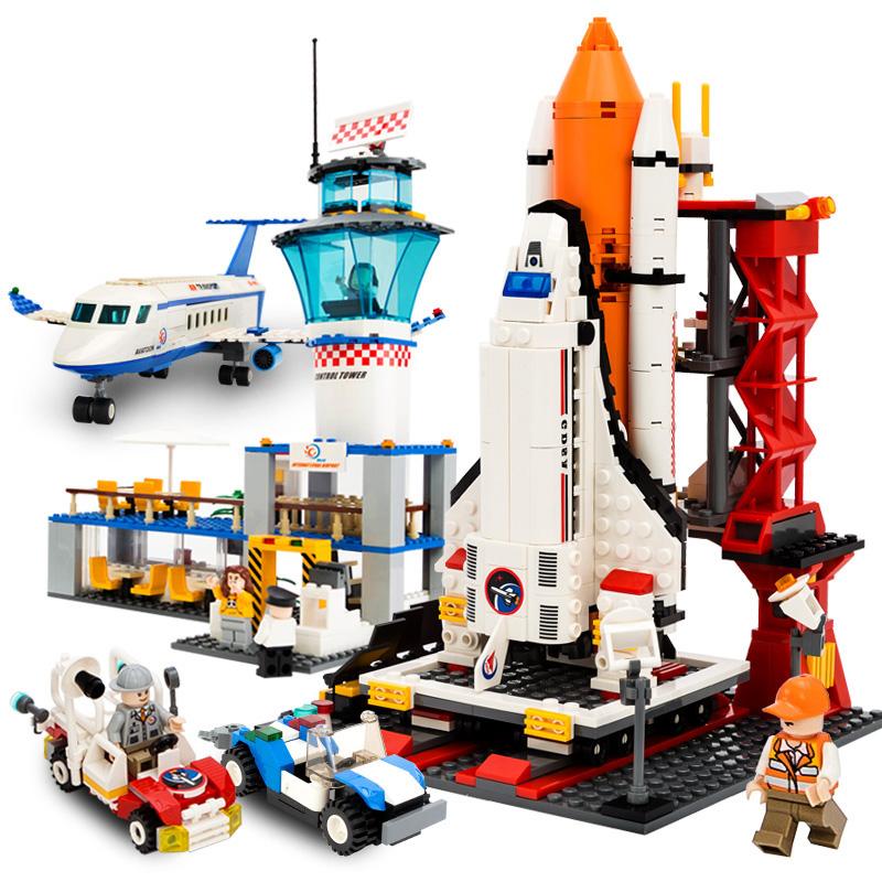 古迪積木航天飛機火箭模型拚插兒童益智拚裝玩具男孩6~10~12~14歲