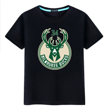 Letter brother t-shirt men's bucks jersey sports training clothes basketball short sleeve summer students large loose half sleeve