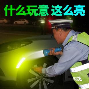 美规汽车前杠车贴3M轮眉反光贴条夜光个性改装车身贴纸警示反光条