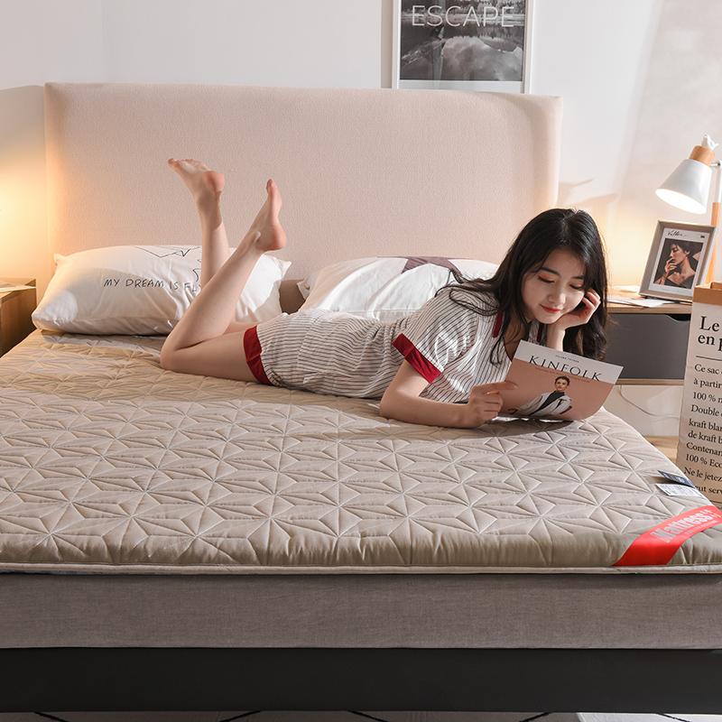 加厚榻榻米家用1.5 m床褥子床垫子满79元可用10元优惠券