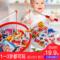 宝宝小猫钓鱼玩具磁性鱼竿1-2-3岁男女孩早教益智玩具4多功能早教