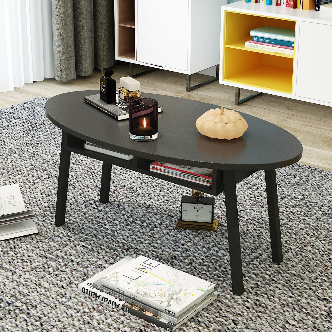 【 каждый день специальное предложение 】 творческий небольшой квартира кофейный столик простой современный легко небольшой стол гостиная овальный кофе стол