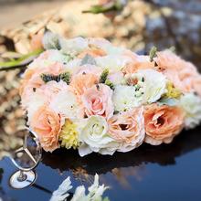 婚车装饰车花结婚婚庆用品花车彩车套装婚礼婚庆车头花主车花车队