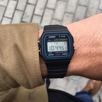 甜茶同款日本卡西欧手表男复古小方块电子表F91W1D3D9Q