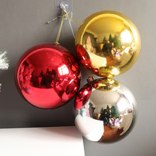 Christmas decorations, color ball ceiling, 12-50cm plating, plastic ball, shopping mall, window, ball, drop shot.