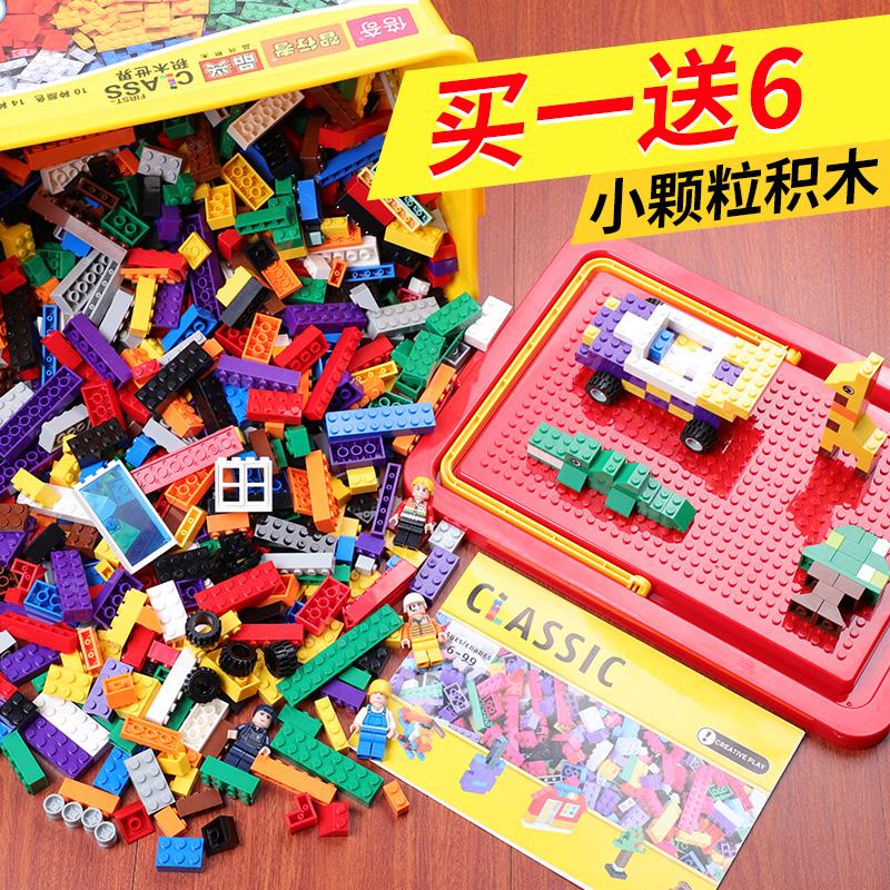 10月15日最新优惠万木鑫小颗粒益智儿童拼装玩具