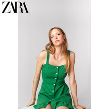 ZARA New Women's Clothes Layered Dresses 03107477500
