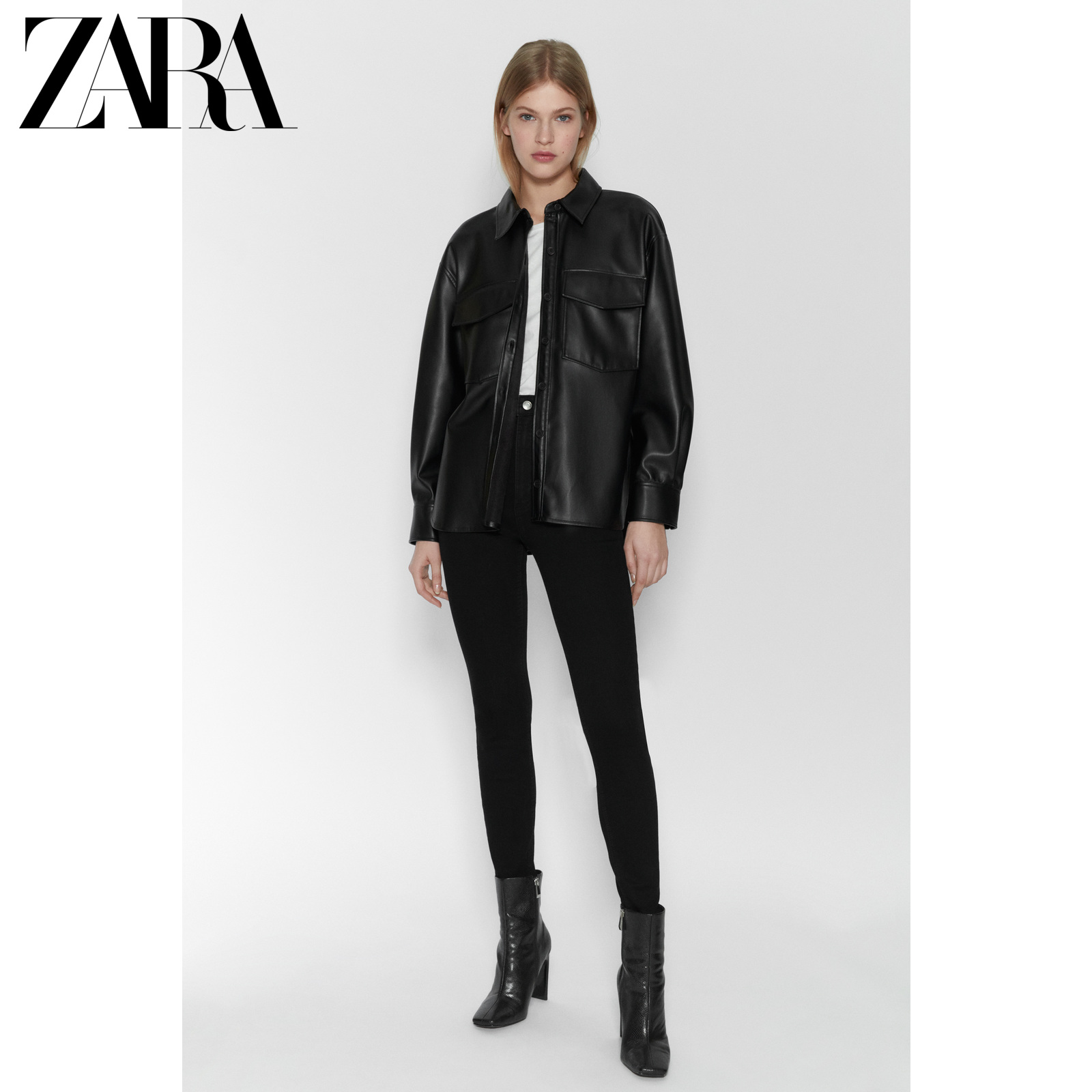 Zara new TRF women's super elastic high waist skinny jeans 05520003800