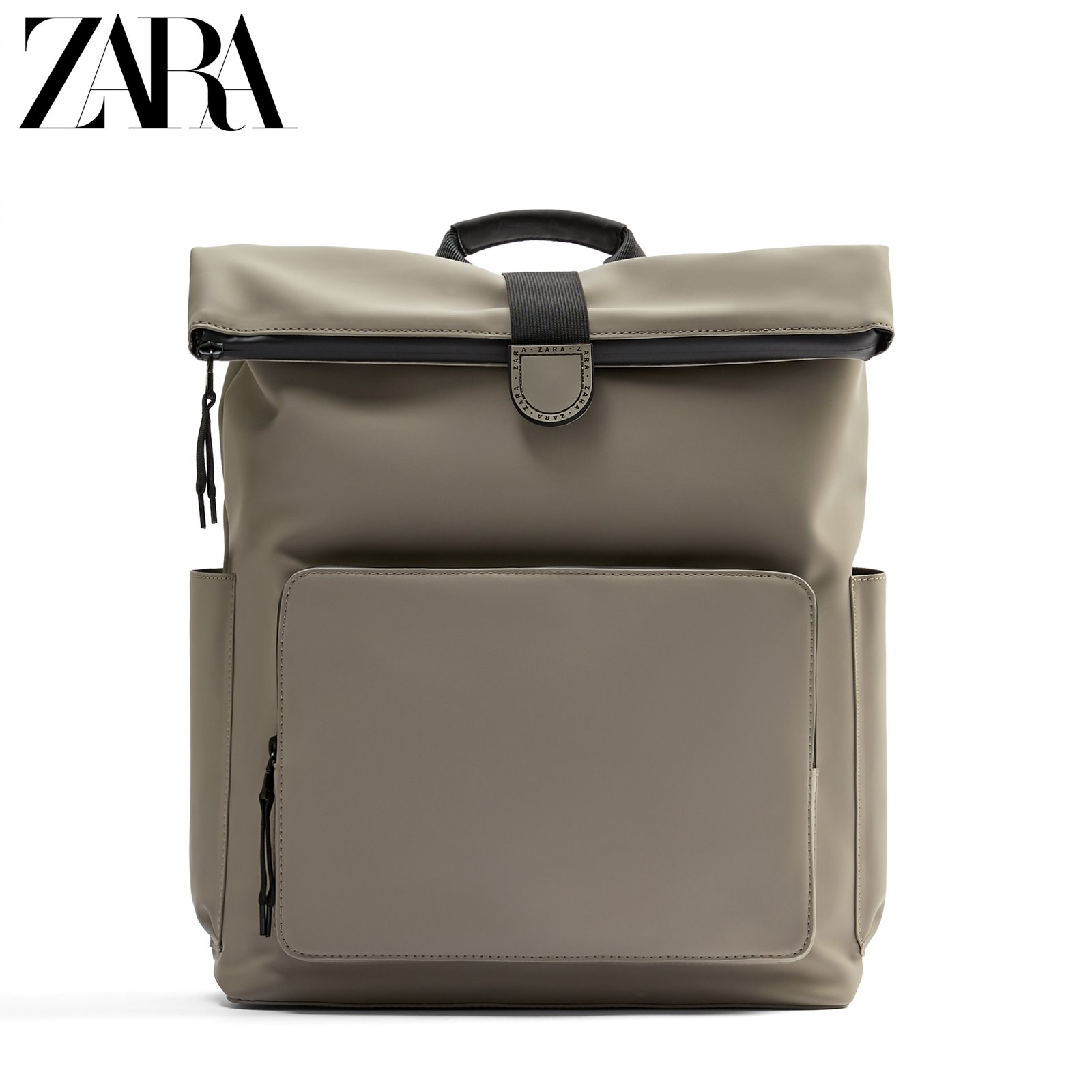 Zara new men's bag gray laminated large-capacity portable and practical backpack 13215620004