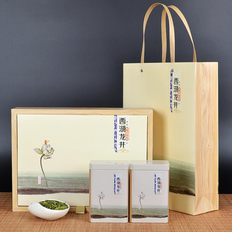 西湖龙井茶2018新茶 正宗高山明前茶叶250g礼盒装 春季绿茶浓香型