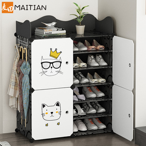 鞋架置物架简易经济型家用室内好看放门口鞋柜防尘小鞋子收纳神器