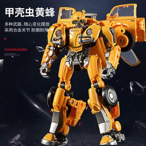 金刚5模型汽车机器人擎天变形玩具