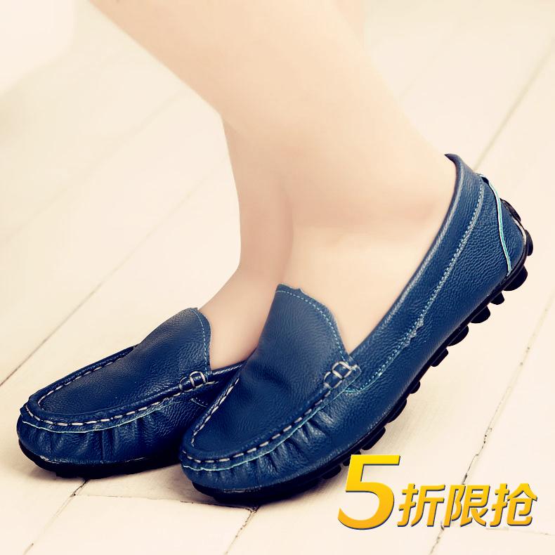 男童豆豆鞋秋寶寶兒童單鞋男女童 鞋小孩皮鞋親子 潮小孩鞋