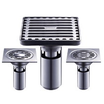 Floor drain deodorant stainless steel 304 toilet washing machine shower core three-wire toilet sewer bathroom floor drain cover