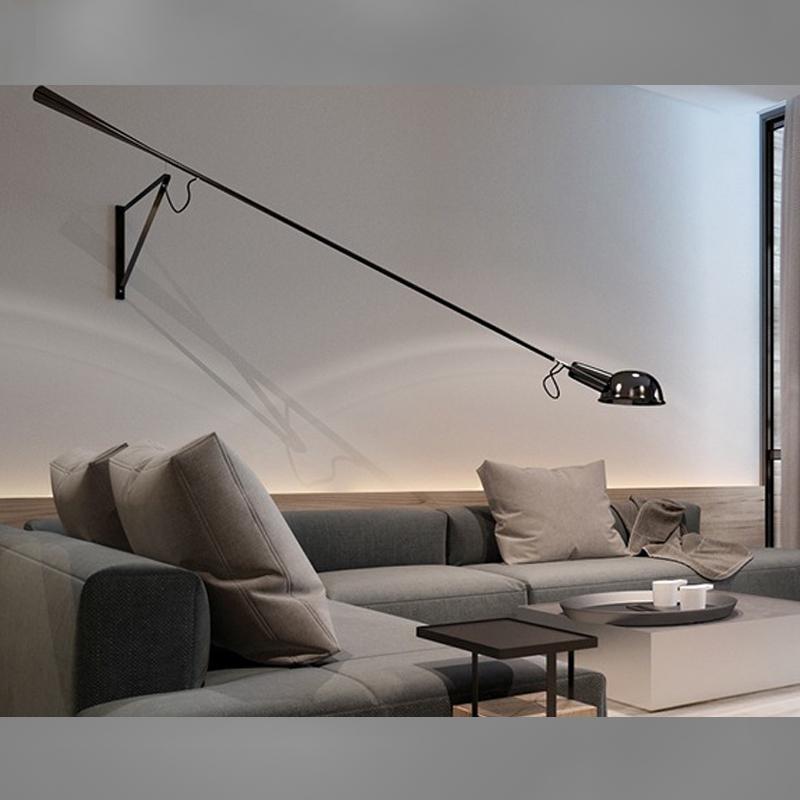 热销20件正品保证长臂壁灯工业复古壁灯客厅灯长杆壁灯北欧个性餐厅灯壁灯摇臂壁灯