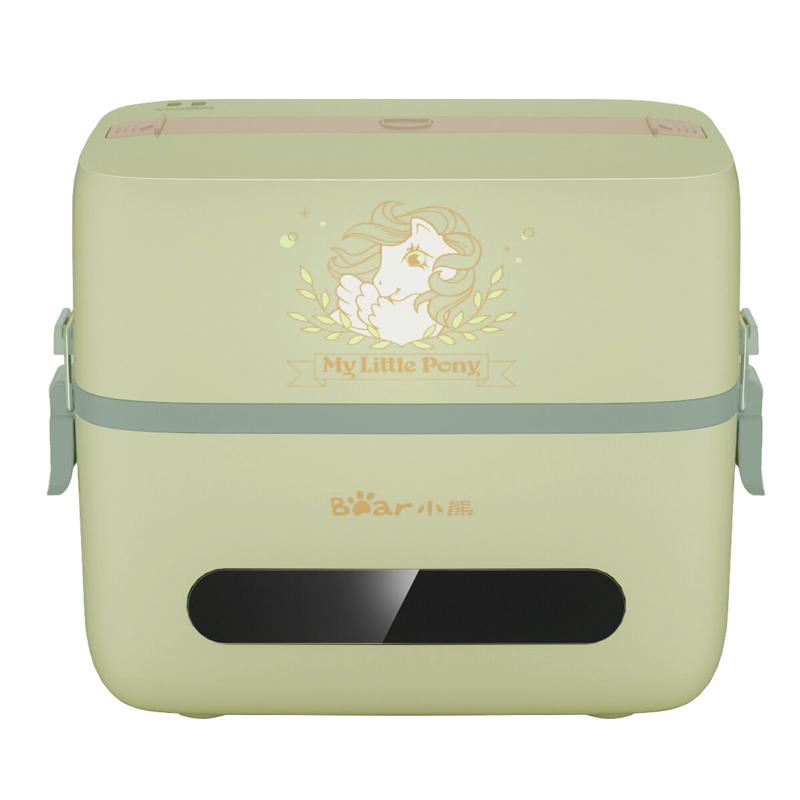 小熊智能电热饭盒可插电上班族保温蒸煮自热便当盒便携式带饭桶锅