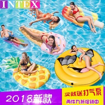 Intex floating floating bed water drifting surf loungers inflatable bed ride swimming circle water equipment bed